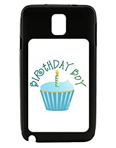 TooLoud Birthday Boy - Candle Cupcake Galaxy Note 3 Case