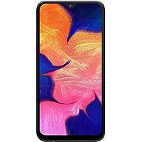 """Samsung Galaxy A10 32GB SM-A105M/DS 6.2"""" HD+ Infinity-V LTE Smartphone Desbloqueado de fábrica (versión Internacional), 32GB+32GB MicroSD, Negro"""