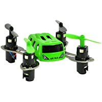 Extreem Hobby 2 x 2 x 1 Nano Quad Copter with 2.4 GHz Remote and Full Flip Capability, Green