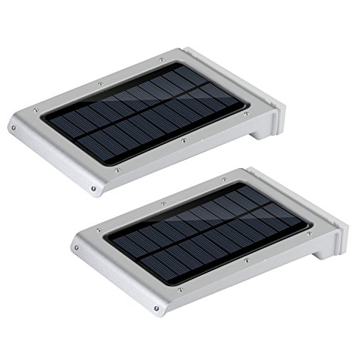 Solar Light, Nekteck 25 LED Wireless Super Bright Powered Motion Sensor Light Street Light, Outdoor Security Light, For Patio Deck Yard Garden Home Driveway Stairs Outside Wall Pathway (2 Pack)