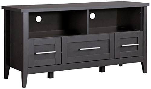 Baxton Studio TV Stand 3-Drawers, Espresso ()
