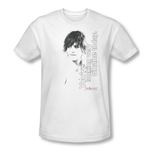 The L Word Drama TV Show Showtime Looking Shane Today Adult Slim T-Shirt Tee