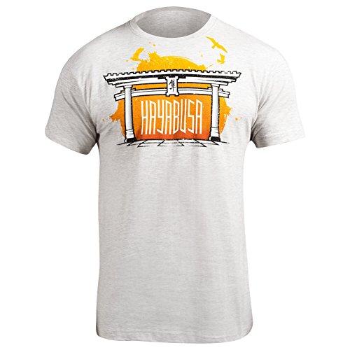 Hayabusa Torii T-Shirt, White, Medium (Hayabusa T Shirt)