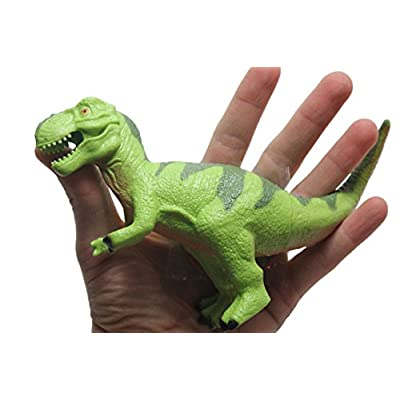 Curious Minds Busy Bags Squishy & Stretchy Large Dinosaur Toy - Sensory Fidget (Green): Toys & Games