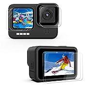 Kupton [6 Pack] Displayschutzfolie kompatibel mit GoPro Hero 9 Black, 2×Ultraklarer Gehärtetem Glas Displayschutz, 2…