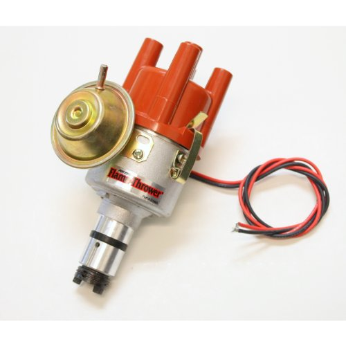 Pertronix D182504 Ignitor II Distributor with Vacuum Cast for Volkswagen ()