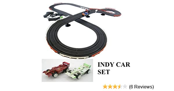 Jj Toys Indy Style Slot Car Track Ho Scale Race Set New And Improved 2019