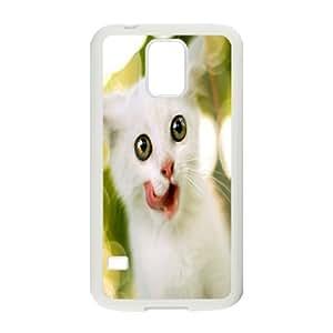 C-Y-F-CASE DIY Cute Cat Pattern Phone Case For SamSung Galaxy S5 i9600