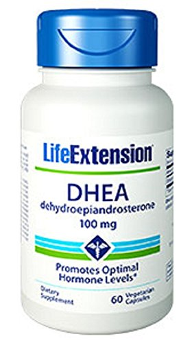 Life Extension DHEA 100 Mg, 60 vegetarian caps