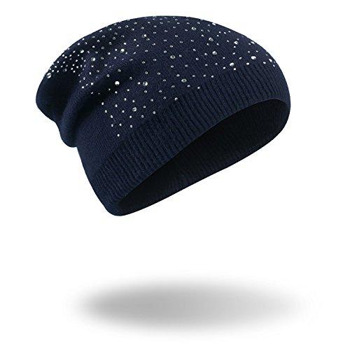 gorras Navy beanie MS tejidas Navidad Hat vino Halloween blue cálido sombreros rojo PAC MASTER Invierno OxqUf0BwH