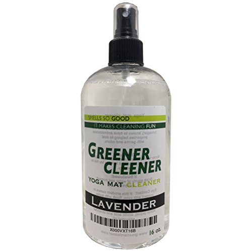 Natural Lavender Yoga Mat Cleaner 16 Ounce Spray Wash Deodor