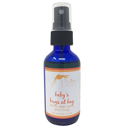 Babys Bugs at Bay Insect Spray with Sample Soap - All Natural Insect Spray with Lavender, Lemon Eucalyptus, and Lemongrass Essential Oils, 2 Ounce