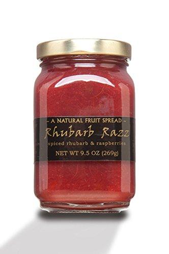 Mountain Fruit Company, Spread Rhubarb Raspberry, 9.5 - Raspberry Jam Rhubarb