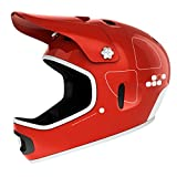 POC Cortex Flow Bike Helmet, Bohrium Red, Medium/Large