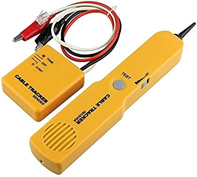 Buscador de cables generador de tono sonda rastreador RJ11 cable rastreador de red probador