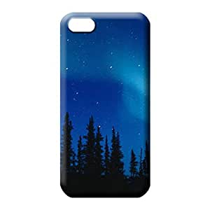 iphone 6plus 6p Classic shell Special skin phone carrying case cover colorful aurora polar light polarization
