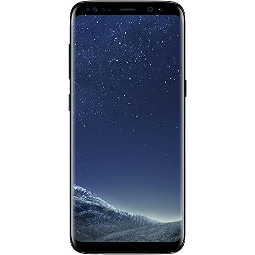 Samsung Galaxy S8 128 gb (64GB + 64GB MicroSD) Advanced Bundle + Wireless Rapid Charger, G950U (Renewed)
