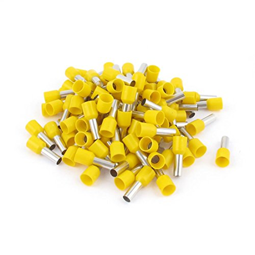 100 Pcs Wire Connector Insulated Terminal Ferrule: Electronics