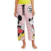 "Disney Minnie & Mickey Mouse ""You Did What?"" Women's Pajama Sleep Pants"
