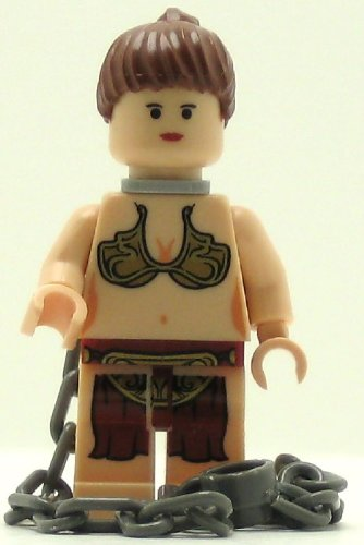 [LEGO Star Wars Minifig Princess Leia Jabba Slave] (Star Wars Princess Leia Slave)