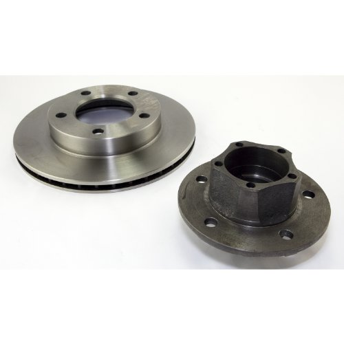 Omix-Ada 16704.04 Front Hub and Rotor