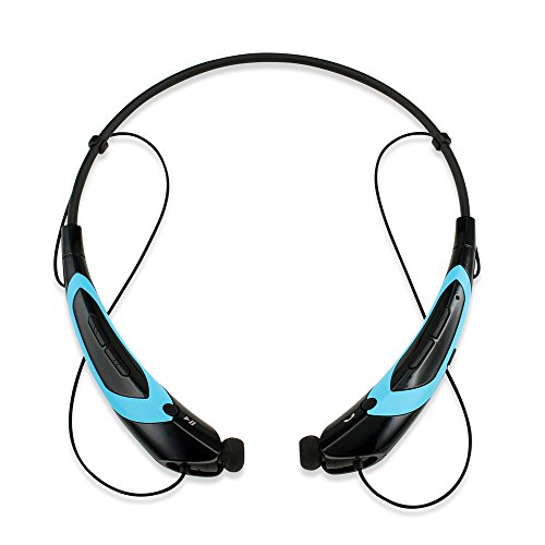 GEARONIC TM Bluetooth Headphone BlackBlue