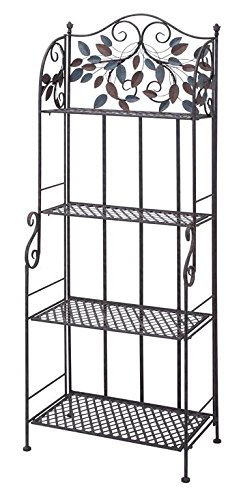 Deco 79 Metal Baker Rack, 68 by 26-Inch by Deco 79