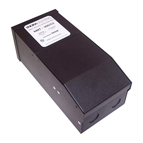 Nora Lighting NMT-300-C2 300W Magnetic Class II Transformer With 5 x 60W?Breakers