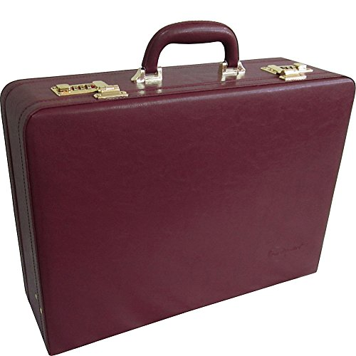 Amerileather Expandable Executive Faux Leather Attache Case (#2893-5)