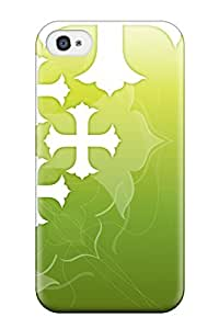 PghDoLx1747FIfTH Cross Abstract Fashion Tpu 4/4s Case Cover For Iphone