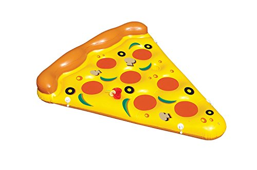 Swimline 90645 – 6-Foot By 5-Foot Giant Inflatable Pizza Slice 41FIbGEmNkL