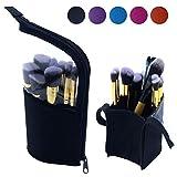 Portable Makeup Brush Holder, Small Clear Makeup Brush Bag Makeup Brush Organizer Waterproof Makeup Bag Makeup Brush Carrying Pencil Case