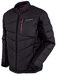 Sunice Forbes Thermal 3M Jacket 3M Thinsulate featherless insulation is designed to closely mimic the look and performance of natual down but with two times the loft when wet and without the allergens. The fill is as lightweight as natural do...