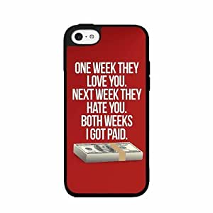 I Got Paid- TPU RUBBER SILICONE Phone Case Back Cover iPhone 5 5s by icecream design
