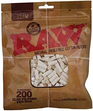 Compra RAW Slim - Filtro de algodón Natural, 6 mm, 20 x 200 ...