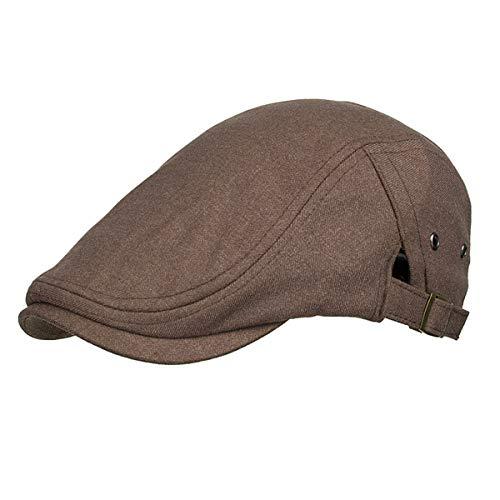 Sombrero Sombreros Hombres Pato GLLH Botones C para de qin sólido B Color de Bailey Laterales Hombres Sombrero para Informal hat Sombrero q8P7xqH