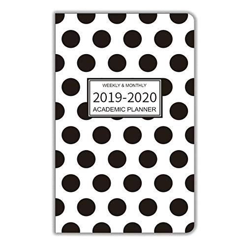 13 Month Pocket Planner - 2019-2020 Academic Planner/Pocket Calendar, 13 Months - September 2019 to September 2020, Weekly Agenda/Monthly Organizer, 6