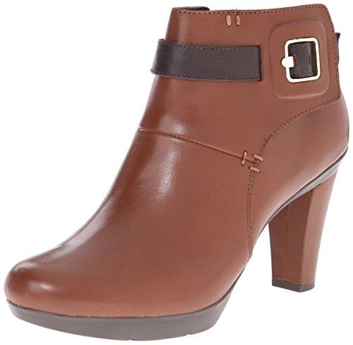 Geox D54G9B femmes marron cuir Bottine, EU 41