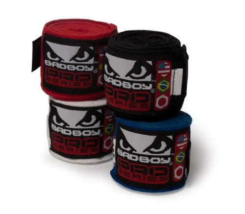 Bad Boy Hand Wraps 2.5m - Blue
