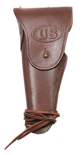 - World War Supply Leather US WW2 Style M1916 Colt 1911 .45 Holster Utility Holster Left Hand Version