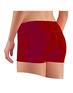 Epic MMA Gear Womens Stretch Solid Athletic Shorts