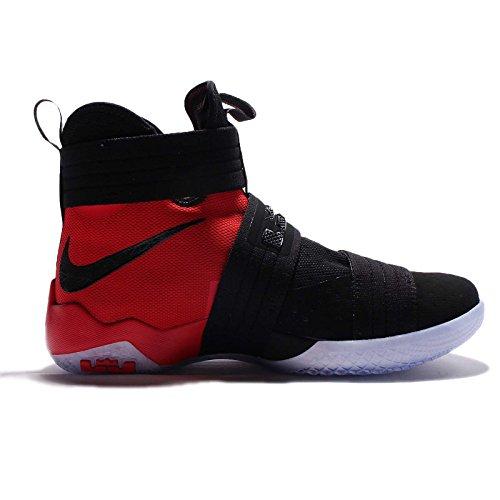 Black black SFG da Lebron Basket Uomo Soldier 10 Scarpe Nike University Red qR7w8