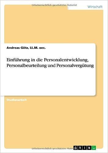 Einführung in die Personalentwicklung, Personalbeurteilung und ...