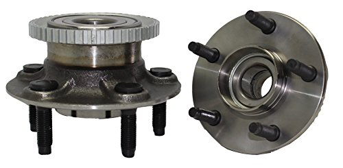 Brand New (Both) Rear Wheel Hub and Bearing Assembly 1997-03 Ford Windstar 5 Lug W/ABS (Pair) 512149 ()