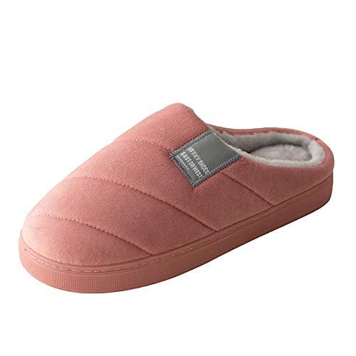 2 Hommes 5 Femmes Rouge Chaussures Vert Chaude Hiver Intérieur Maison slip Café Anti Bleu Gris Rose Coton Léger Pamray En Plateforme Pantoufles Peluche Chaussons Slippers Cm De Y0xpFU