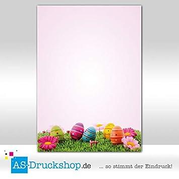 90 g-Offsetpapier 25 Blatt//DIN A4 Designpapier Ostern Osterzweig