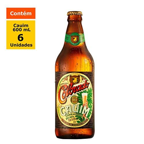 Cerveja Colorado Cauim 600ml Unidades
