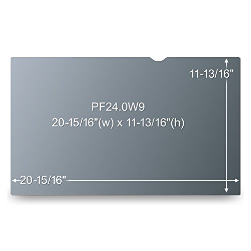 """3M Privacy Filter for 24"""" Widescreen Monitor (PF240W9B)"""