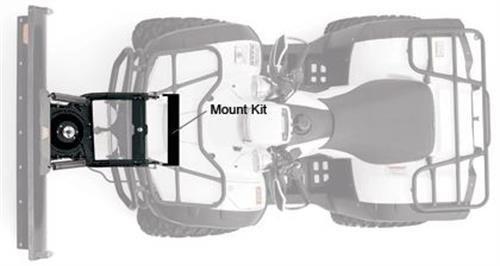 Warn 95745 Plow Mount Kit Front Black Powdercoat  Plow Mount Kit by Warn