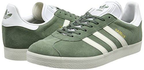 Footwear Unisex White Deporte Trace Zapatillas White Colores Adulto Varios de adidas Gazelle Green Originals Off XqgwIOS